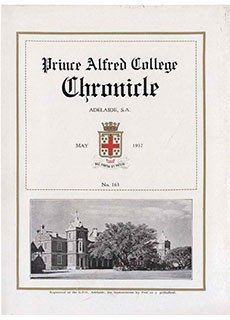 PAC Chronicle 1932 (1) Front Cover