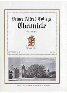 PAC Chronicle 1932 (2) Front Cover