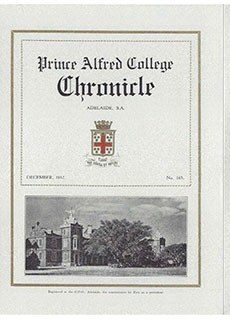 PAC Chronicle 1932 (3) Front Cover