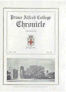 PAC Chronicle 1934 (1) Front Cover