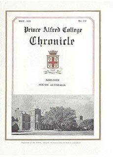 PAC Chronicle 1935 (1) Front Cover