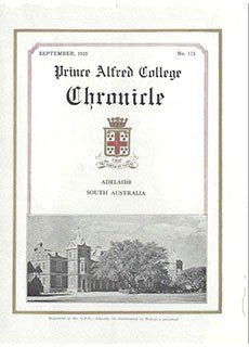 PAC Chronicle 1935 (2) Front Cover