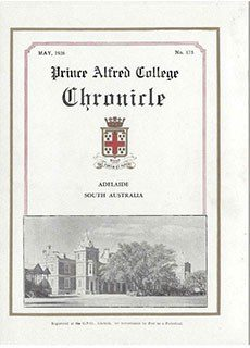 PAC Chronicle 1936 (1) Front Cover