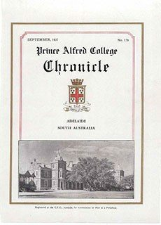 PAC Chronicle 1937 (3) Front Cover