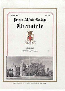 PAC Chronicle 1938 (2) Front Cover