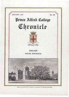 PAC Chronicle 1940 (1) Front Cover