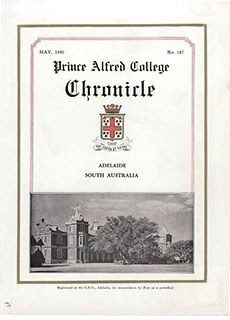 PAC Chronicle 1940 (2) Front Cover