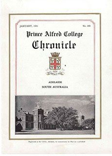 PAC Chronicle 1941 (1) Front Cover