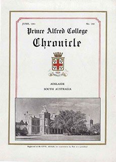 PAC Chronicle 1941 (2) Front Cover