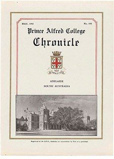 PAC Chronicle 1942 (2) Front Cover
