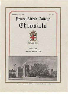 PAC Chronicle 1943 (1) Front Cover