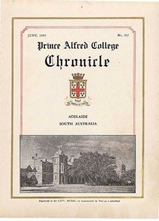 PAC Chronicle 1945 (2) Front Cover