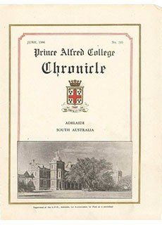 PAC Chronicle 1946 (2) Front Cover
