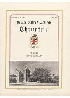 PAC Chronicle 1946 (3) Front Cover