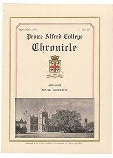 PAC Chronicle 1947 (1) Front Cover