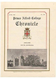 PAC Chronicle 1947 (2) Front Cover