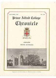 PAC Chronicle 1947 (3) Front Cover