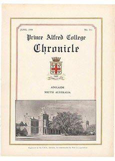 PAC Chronicle 1948 (2) Front Cover