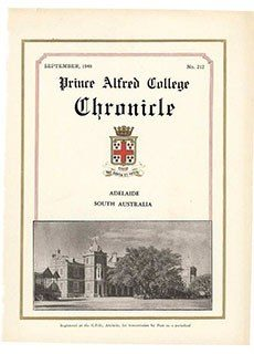 PAC Chronicle 1948 (3) Front Cover