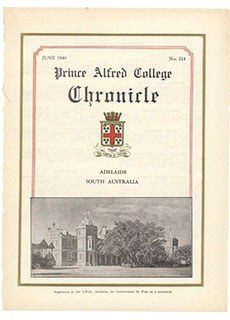 PAC Chronicle 1949 (2) Front Cover