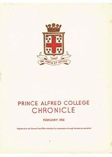 PAC Chronicle 1950 (1) Front Cover