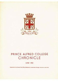 PAC Chronicle 1950 (2) Front Cover
