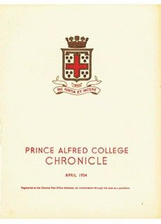 PAC Chronicle 1954 (1) Front Cover