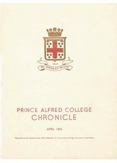PAC Chronicle 1955 (1) Front Cover