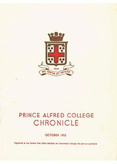 PAC Chronicle 1955 (2) Front Cover