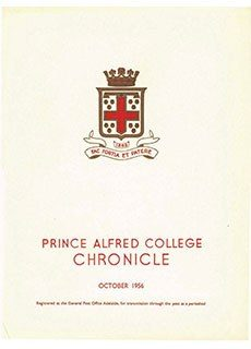 PAC Chronicle 1956 (2) Front Cover