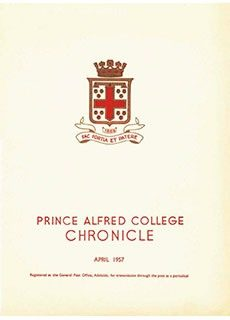 PAC Chronicle 1957 (1) Front Cover