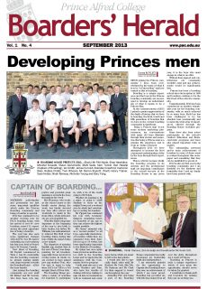 Boarders' Herald | 2013 Front Cover