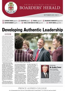 Boarders' Herald | 2014 Front Cover