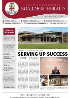 Boarders' Herald | 2016 Front Cover