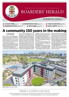 Boarders' Herald | 2019 Front Cover