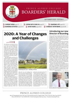 Boarders' Herald | 2020 Front Cover
