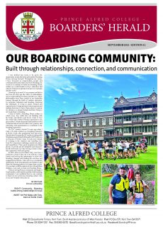 Boarders' Herald | 2021 Front Cover